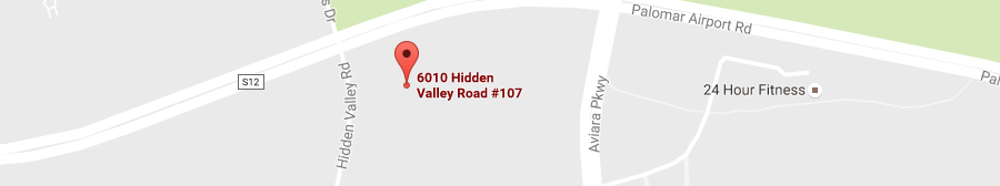 Carlsbad Office map